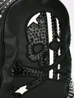 Рюкзак С Заклепками Philipp Plein                                                                                                              чёрный цвет