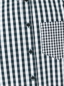 Gingham Checked Shirt Givenchy                                                                                                              чёрный цвет