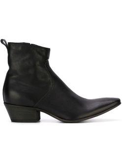 Texan Ankle Boots Haider Ackermann                                                                                                              черный цвет