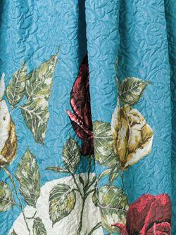 Фактурная Юбка С Цветочным Принтом Antonio Marras                                                                                                              синий цвет