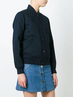 Classic Bomber Jacket A.P.C.                                                                                                              синий цвет