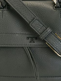 Zipped Tote Bag Tory Burch                                                                                                              черный цвет