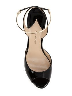 Wedge Sandals Paul Andrew                                                                                                              черный цвет