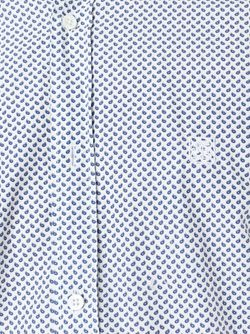 Рубашка С Принтом Corneliani                                                                                                              белый цвет