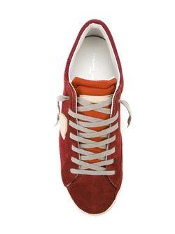 Кеды Classic Philippe Model                                                                                                              красный цвет