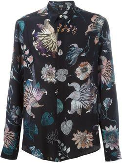 Floral Print Shirt Versus                                                                                                              черный цвет