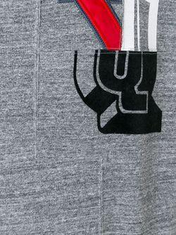 Топ С Принтом Логотипа FACETASM                                                                                                              серый цвет