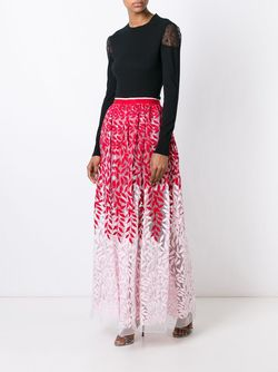Embroidered Skirt Christian Pellizzari                                                                                                              красный цвет