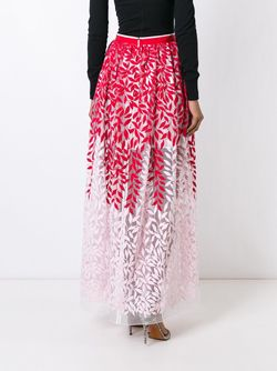 Embroidered Skirt Christian Pellizzari                                                                                                              красный цвет