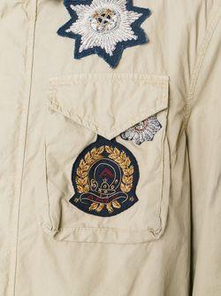 Куртка С Заплатками Amen                                                                                                              Nude & Neutrals цвет