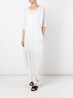 Asymmetric Hem Dress Poème Bohèmien                                                                                                              белый цвет