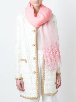 Lace Detail Scarf Ermanno Scervino                                                                                                              розовый цвет