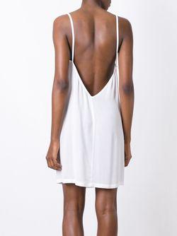 Платье С Открытой Спиной Ann Demeulemeester                                                                                                              белый цвет
