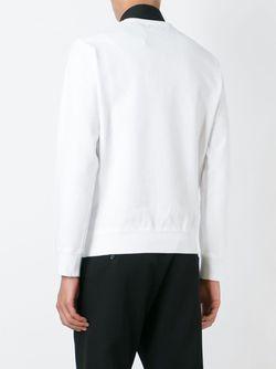 Толстовка С Вышивкой Птиц Alexander McQueen                                                                                                              белый цвет
