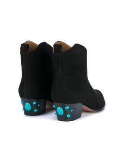 Ботинки Cowboy Aquazzura                                                                                                              чёрный цвет