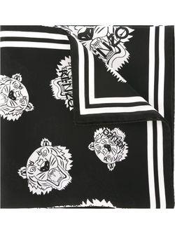 Шарф Mini Tiger Kenzo                                                                                                              черный цвет