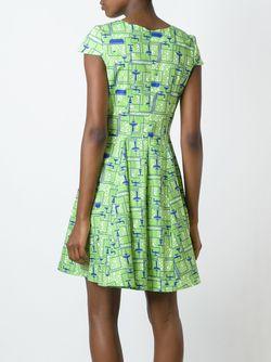 Платье С Принтом Ultràchic                                                                                                              зелёный цвет