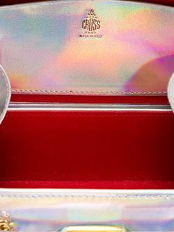 Маленькая Сумка Grace Mark Cross                                                                                                              серебристый цвет