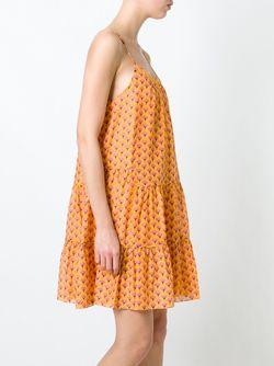 Платье С Принтом Baylee Diane Von Furstenberg                                                                                                              желтый цвет