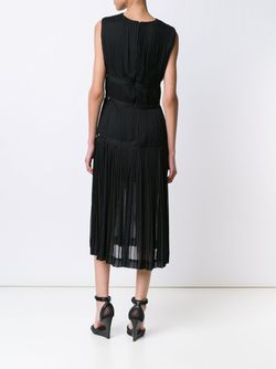 Pleated V-Neck Dress Altuzarra                                                                                                              чёрный цвет