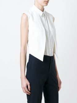Топ С Пайетками И Открытой Строчкой Brunello Cucinelli                                                                                                              белый цвет