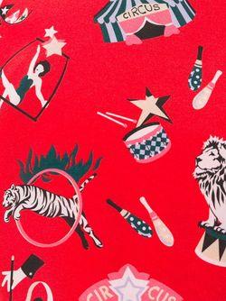 Платье Шифт С Принтом Missoni                                                                                                              красный цвет