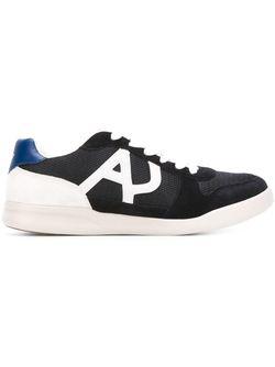 Кроссовки С Панельным Дизайном ARMANI JEANS                                                                                                              синий цвет