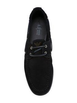 Палубные Туфли ARMANI JEANS                                                                                                              синий цвет