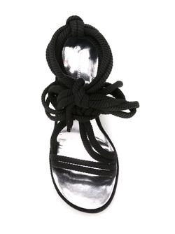 Босоножки Étoile Miana Isabel Marant                                                                                                              черный цвет