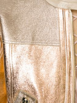 Куртка На Молнии С Отделкой Металлик Roberto Cavalli                                                                                                              многоцветный цвет