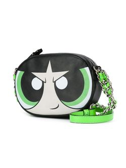 Powerpuff Girls Buttercup Crossbody Bag Moschino                                                                                                              чёрный цвет