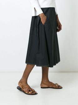 Solar Skirt Sofie D'Hoore                                                                                                              черный цвет