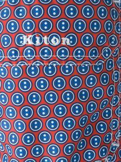 Dot Print Swim Shorts Kiton                                                                                                              красный цвет