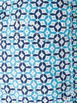 Плавательные Шорты С Мелким Узором Kiton                                                                                                              синий цвет