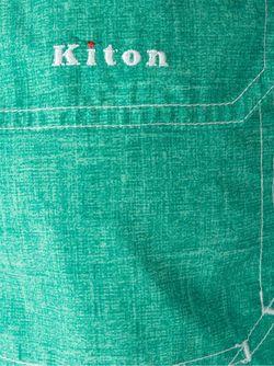 Плавательные Шорты С Джинсовым Эффектом Kiton                                                                                                              зелёный цвет