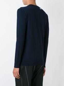 Crew Neck Sweater Loewe                                                                                                              синий цвет