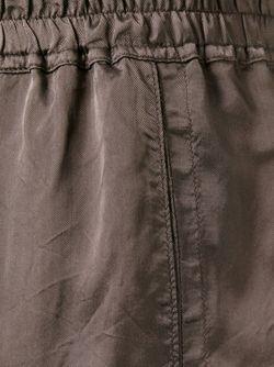 Loose Fit Shorts Rick Owens                                                                                                              коричневый цвет