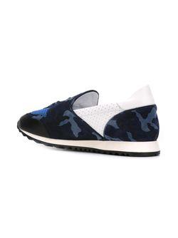 Кроссовки С Камуфляжным Узором Hydrogen                                                                                                              синий цвет