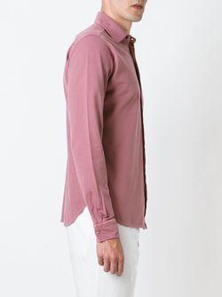 Классическая Рубашка Kiton                                                                                                              розовый цвет