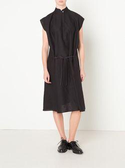 Linen Dress Nehera                                                                                                              чёрный цвет