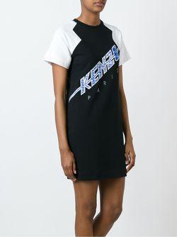 Платье-Толстовка Flash Kenzo                                                                                                              черный цвет