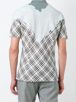 Рубашка В Клетку Raf Simons                                                                                                              многоцветный цвет