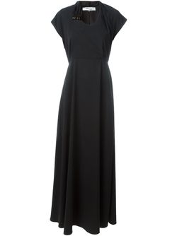 Gathered Waist Maxi Dress Chalayan                                                                                                              чёрный цвет