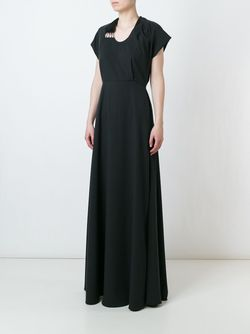 Gathered Waist Maxi Dress Chalayan                                                                                                              черный цвет
