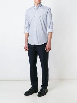 Рубашка В Клетку Etro                                                                                                              белый цвет