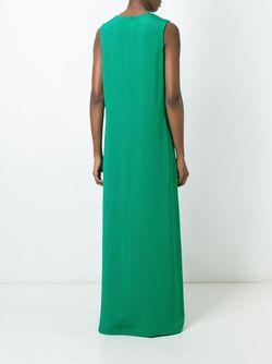 Платье Без Рукавов Gianluca Capannolo                                                                                                              зелёный цвет