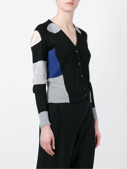 Patchwork Cardigan Maison Margiela                                                                                                              чёрный цвет