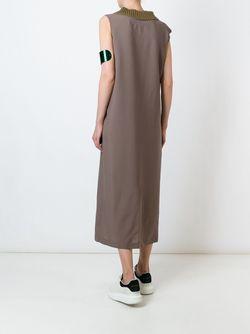 Платье Sadie Golden Goose                                                                                                              коричневый цвет