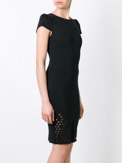 Перфорированное Платье Murmur                                                                                                              чёрный цвет