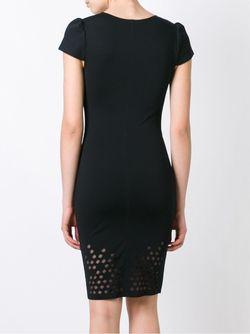 Перфорированное Платье Murmur                                                                                                              черный цвет